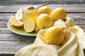 limone per maschere di bellezza