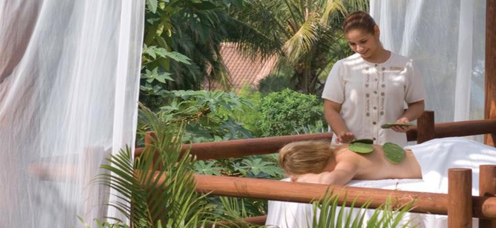 massaggio con i cactus