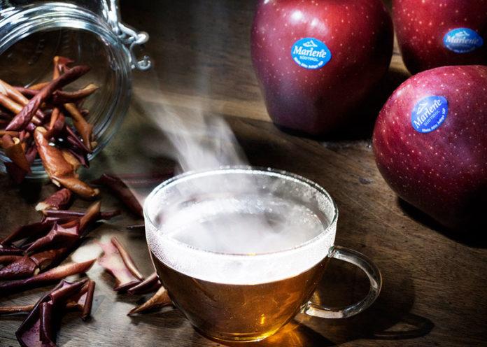Infuso bucce di mela