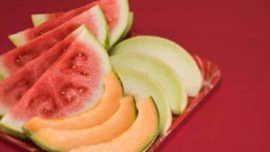 Cocomero e melone insieme per una dieta mono-frutto