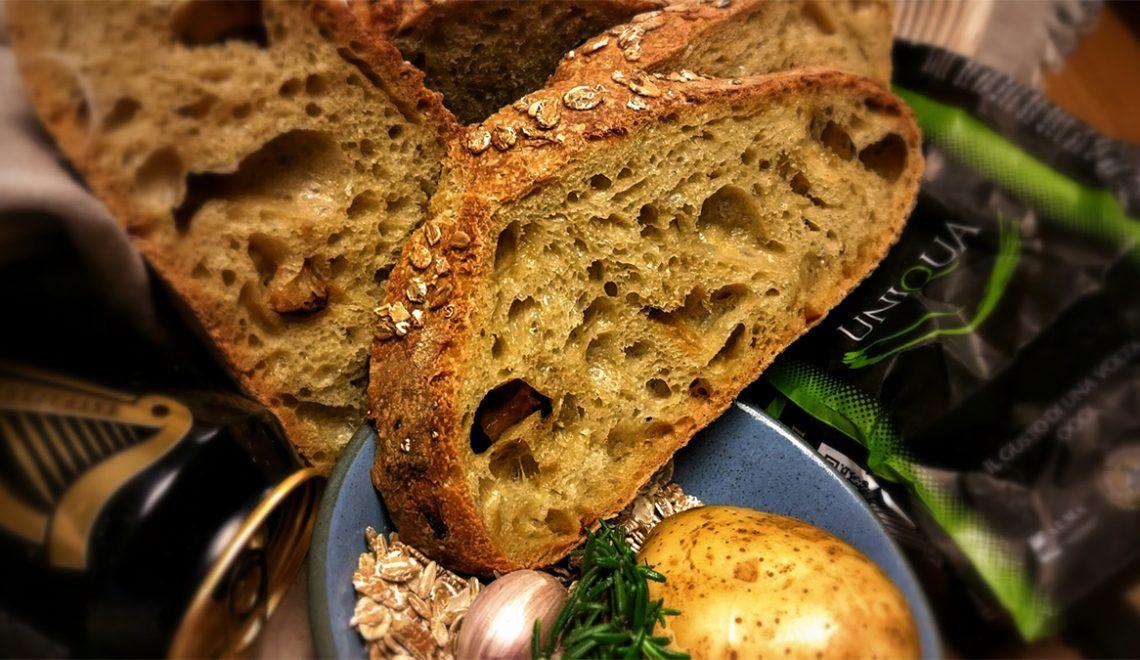 Pane realizzato con grano di tritordeum