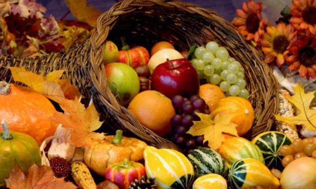 Alimenti tipici dell'autunno