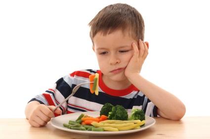 No alla dieta vegana per i bambini