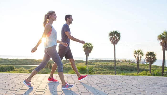 camminata veloce, 100 passi al minuto