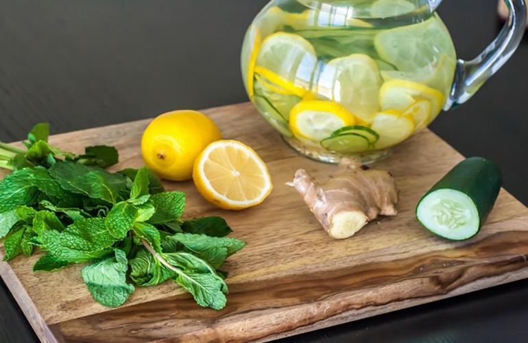 Benefici dell'acqua aromatizzata al cetriolo