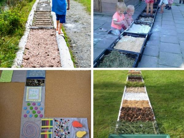 Giardino sensoriale per bambini