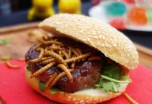 hamburger di insetti