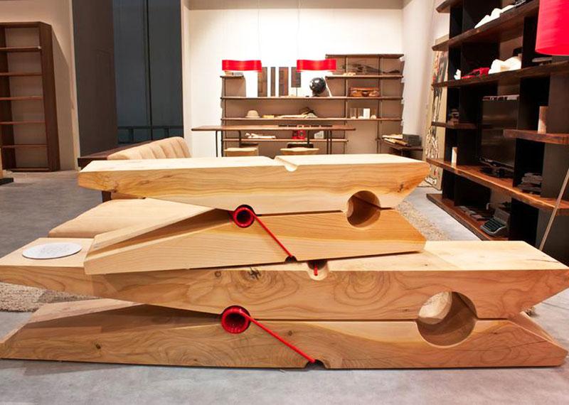 Riciclo e riuso del legno un concorso social di for Arredamenti vicenza