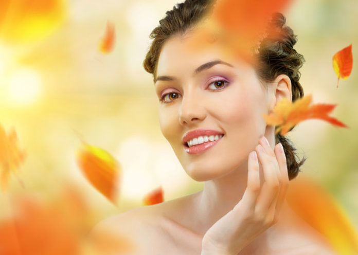 Bellezza viso e corpo in autunno