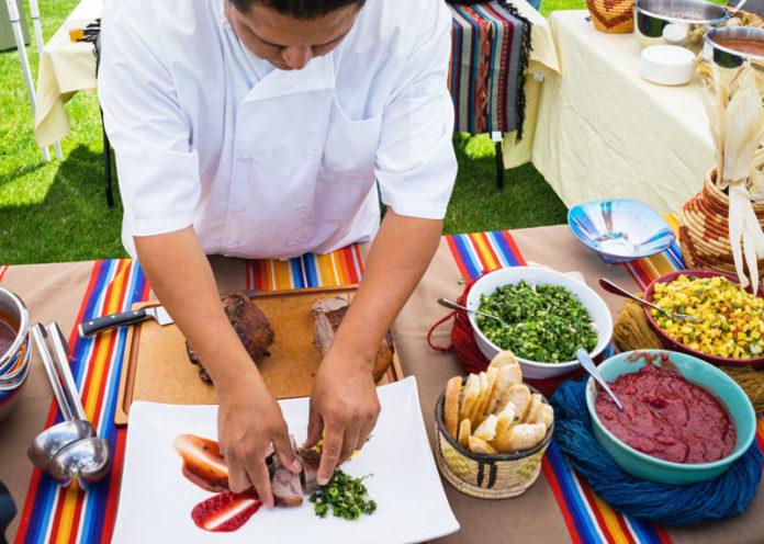 Cucina slow food con prodotti bio