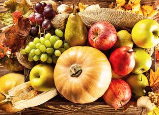 Frutti e ortaggi tipici dell'autunno