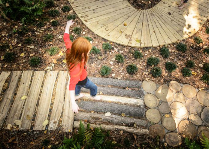 Come realizzare un giardino sensoriale per bambini nello spazio di