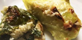 Involtini veg bulgari con riso e cavolo