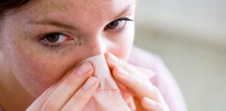 Naso chiuso per il raffreddore, come risolvere