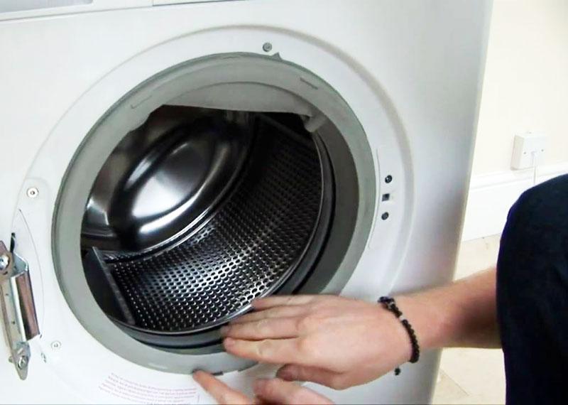 Come pulire la guarnizione della lavatrice con prodotti naturali ...