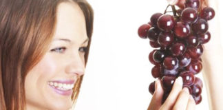 Terapie di bellezza con l'uva