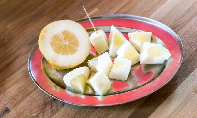 Ricette con il Canarone, ibrido tra cedro e limone