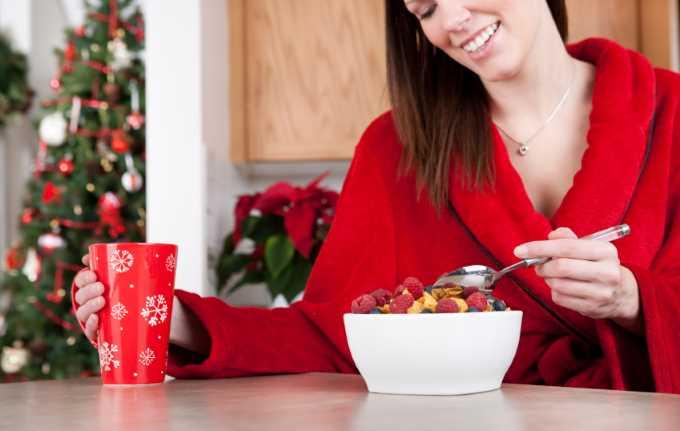 Mangiare frutta e verdura a Natale