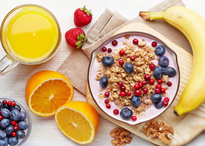 Colazione abbondante e sana