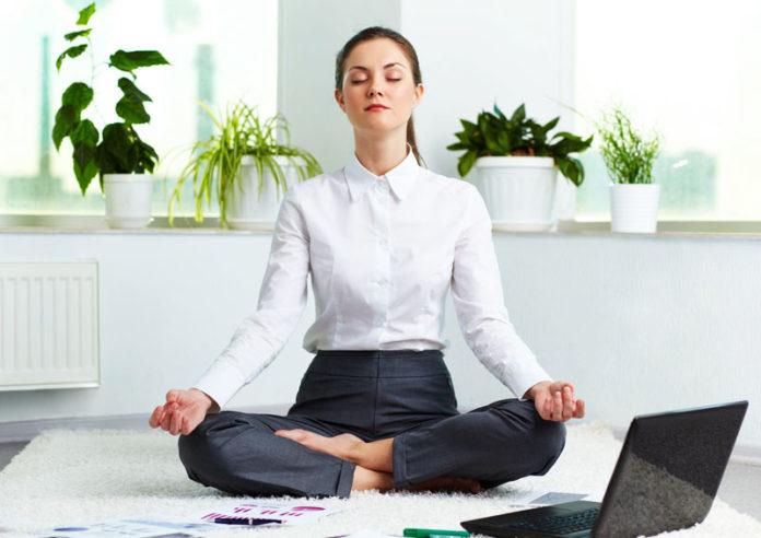 Yoga in ufficio