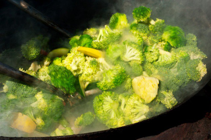 cottura dei broccoli