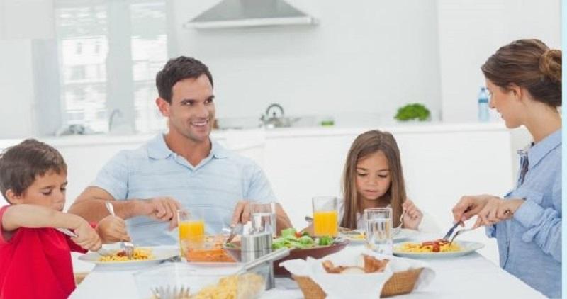 Mangiare bene in famiglia