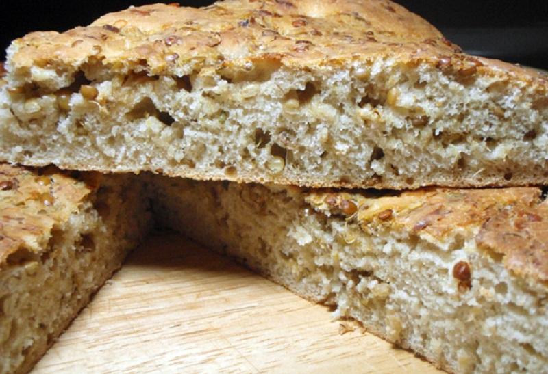 pane con farina di quinoa