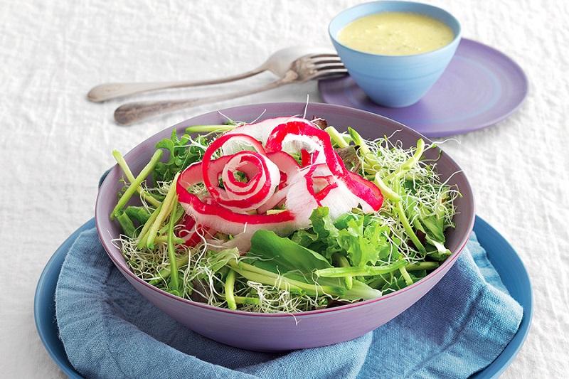 insalata detox ravanelli
