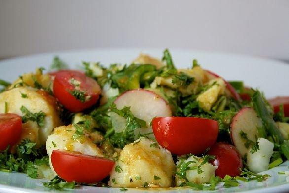 ravanelli in insalata
