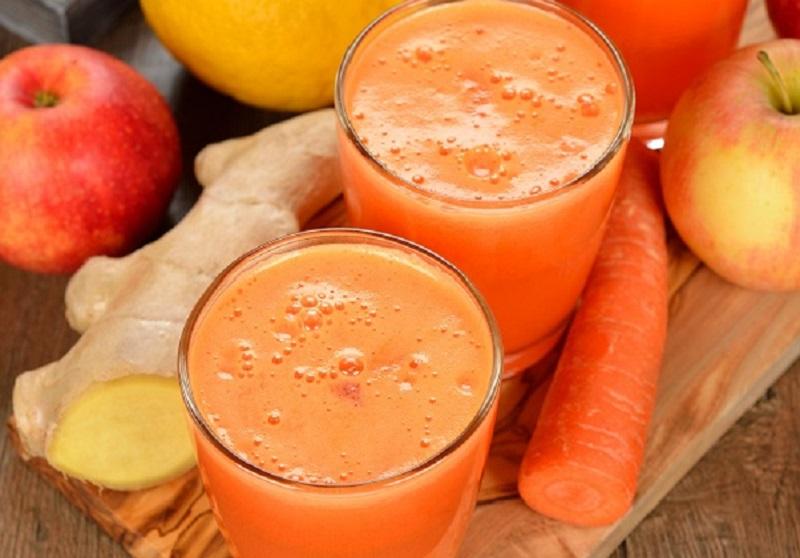 smothie di frutta e verdura