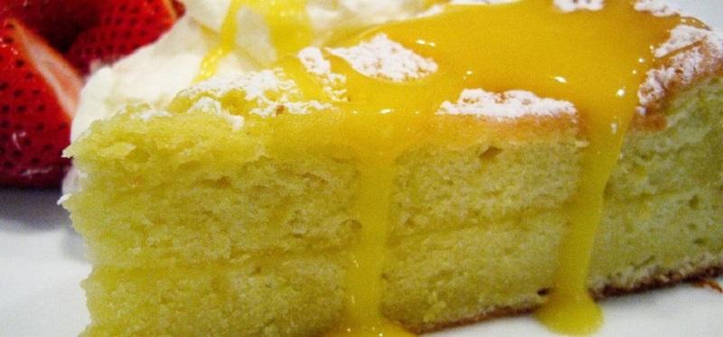 torta al limone vegan