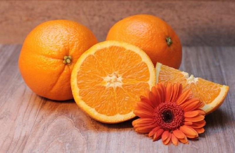 Arance ricche di vitamina c