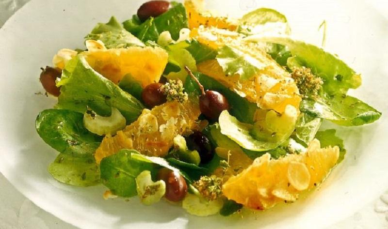 insalata mista di agrumi