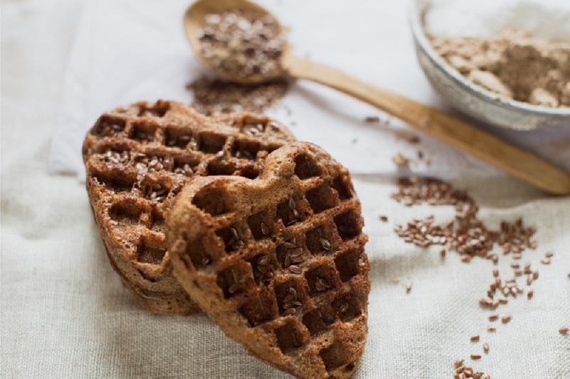 biscotti con farina di semi di lino