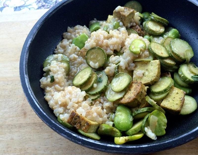 quinoa padella