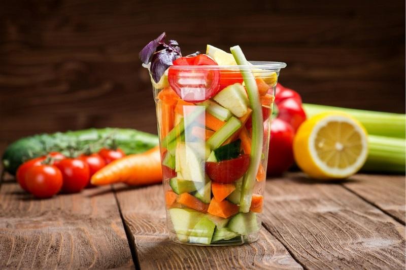 Macedonia di frutta e verdura