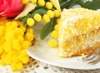 torta mimosa vegana
