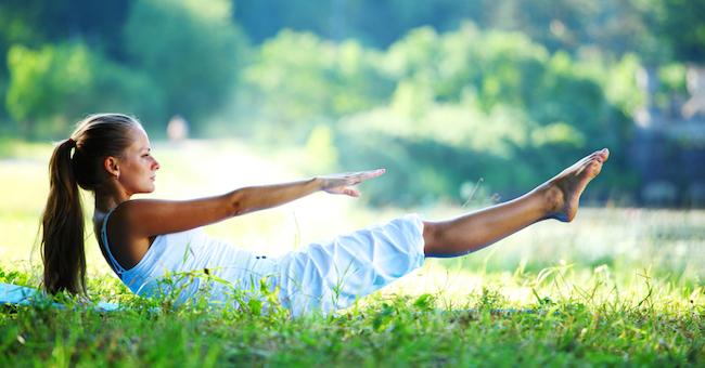 esercizi per addominali e gambe