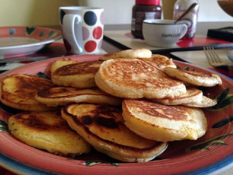 Pancake proteici all'avena