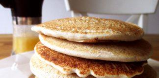 Pancake all'avena fatti in casa (proteici e benefici per l'intestino)