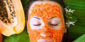 Maschera antiage alla Papaya per viso e capelli
