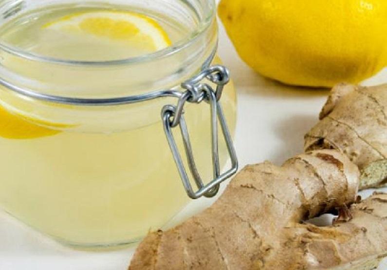 tisana di zenzero con limone