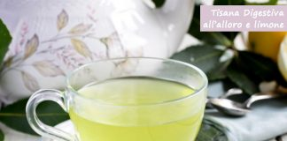 Tisana alloro, limone e zenzero per i problemi digestivi