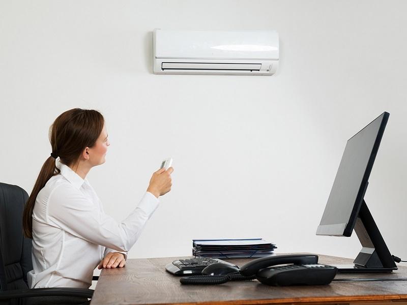 aria condizionata in ufficio