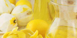 Tisana brucia-grassi alla bucce di limone