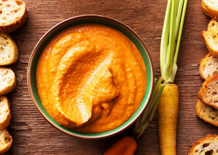 hummus carote