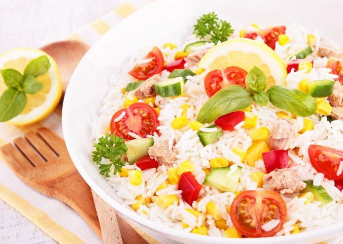 insalata di riso trucchi