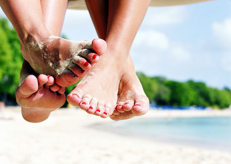 piedi curati in estate