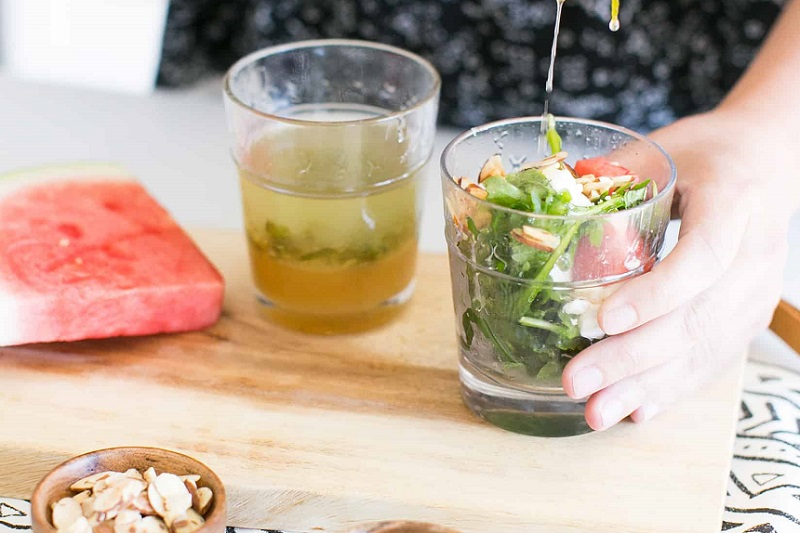 anguria nell'insalata