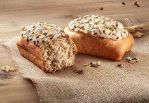 Buondì integrale fatto in casa con granella di semi di chia